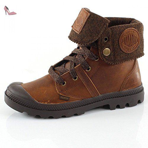 Palladium pallab Rouse Baggy 93471–Cuir de 244M 2Acajou Marron Femme Desert Boots - - Mahogany braun, 38 - Chaussures palladium (*Partner-Link)