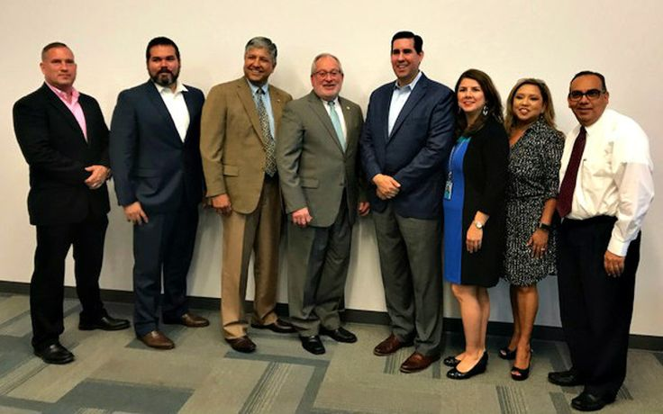 Port of Brownsville Signs MOU with Mission EDC https://www.valleybusinessreport.com/news/port-brownsville-mission-mou?utm_content=buffer0ec38&utm_medium=social&utm_source=pinterest.com&utm_campaign=buffer MOU to Spur Regional Economic Development In order to collaborate on international trade opportunities with Mexico and other development projects, the Brownsville Navigation District Board of Commissioners and Mission Economic Development Corporation have entered into a Memorandum of…