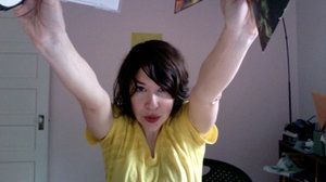 Carrie Brownstein and her new Phish CDs