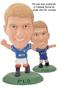 MC028a Tore Andre Flo - Chelsea (Green)