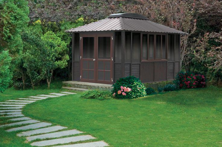 Pavillon de jardin 4 saisons