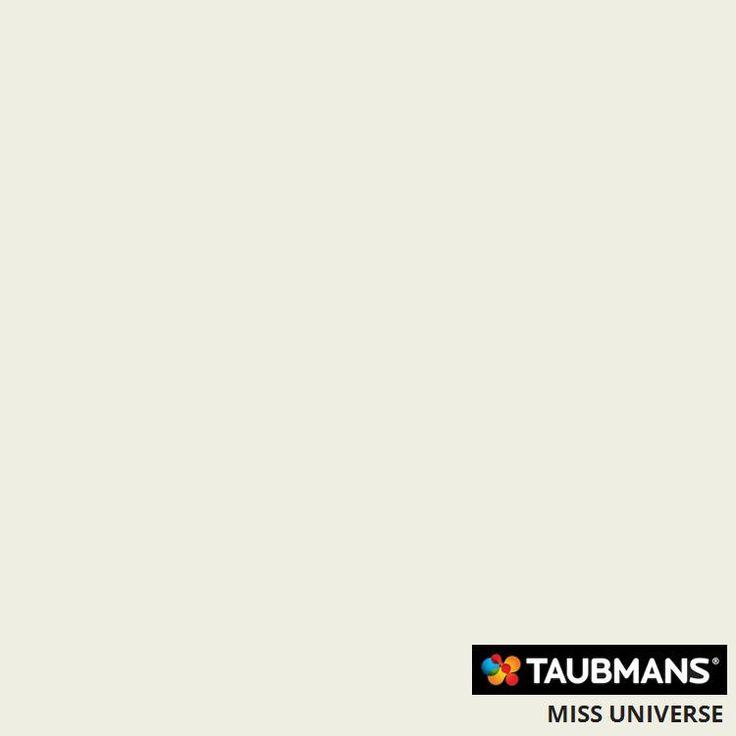 Taubmans colour Miss Universe T15 16.1(T12 1.A10)