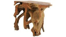 Wandtafel Teak Console | PTMD Collection | 672564