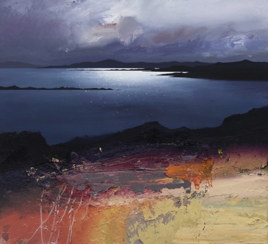 Bushe, C _Late Afternoon Light, Oronsay_
