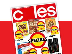 Coles - Australia's 2nd largest supermarket. Over 800 stores