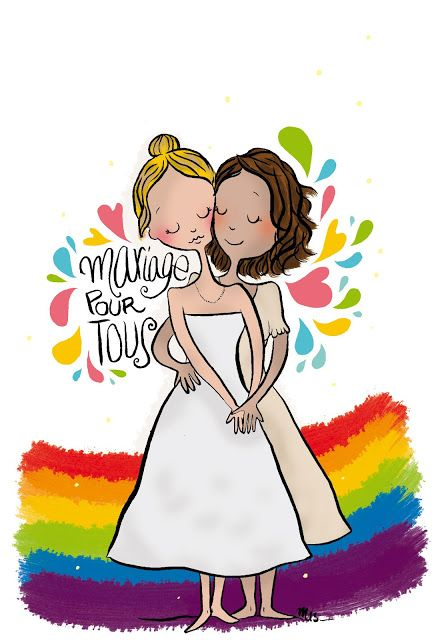 Mariage Pour Tous  Illustration blog Crayon d'Humeur  http://crayondhumeur.blogspot.fr/