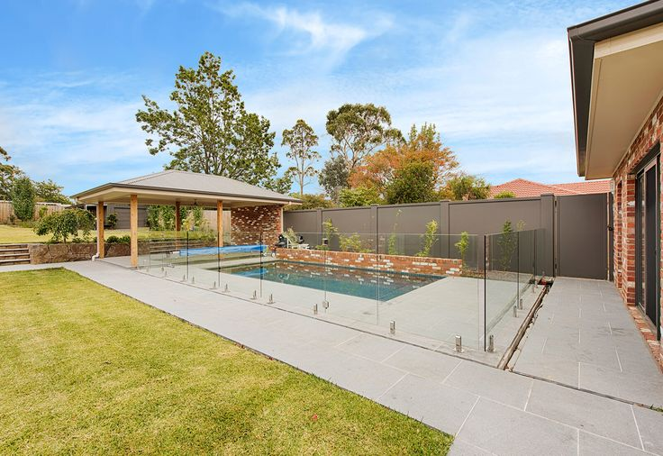 Pool boundary and privacy VogueWall
