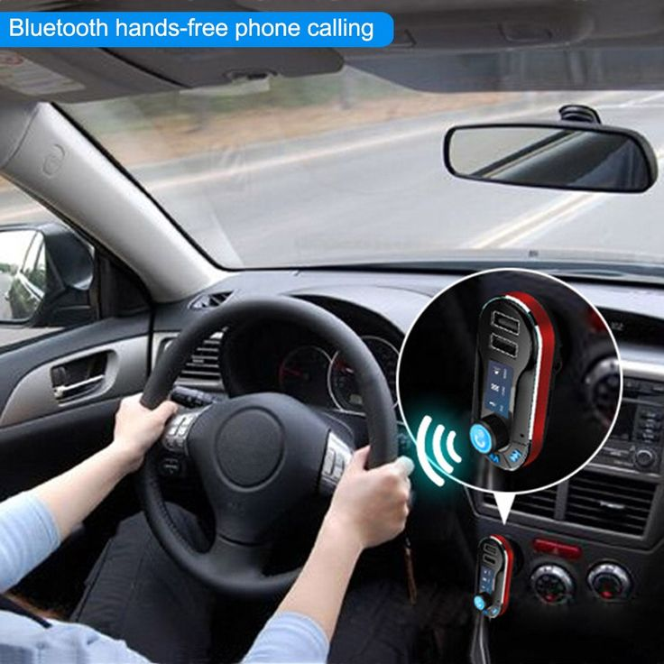 Only US$12.99, Bluetooth Handsfree Phone Calling Car Kit FM Transmitter MP3 - Tomtop.com
