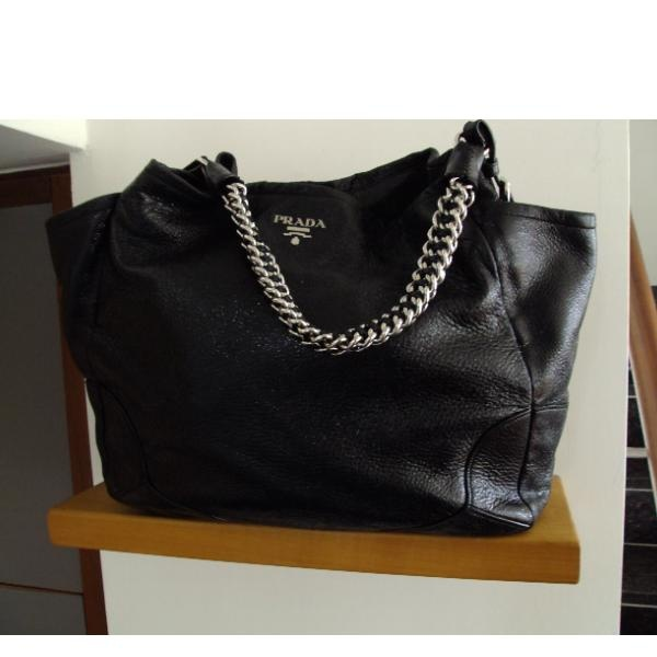 This bag will forever be one of my prized pieces. Prada Handbag (Black)