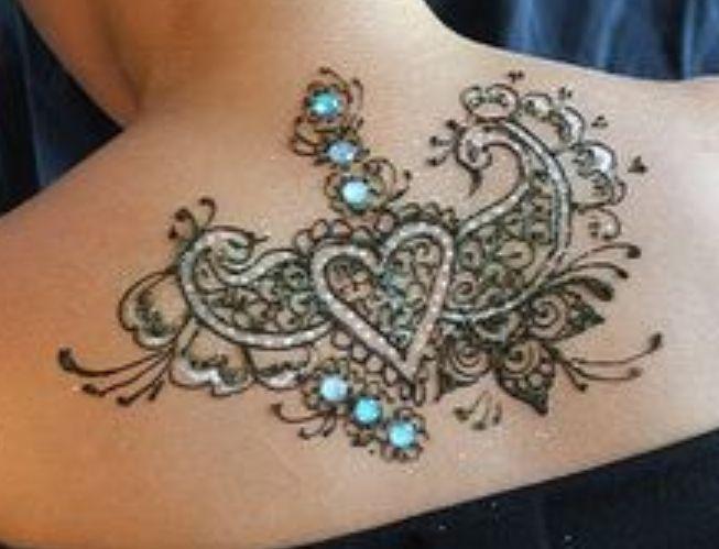 3d metallic tattoos for girls women jewellary 3d tattoo for Permanent metallic ink tattoos
