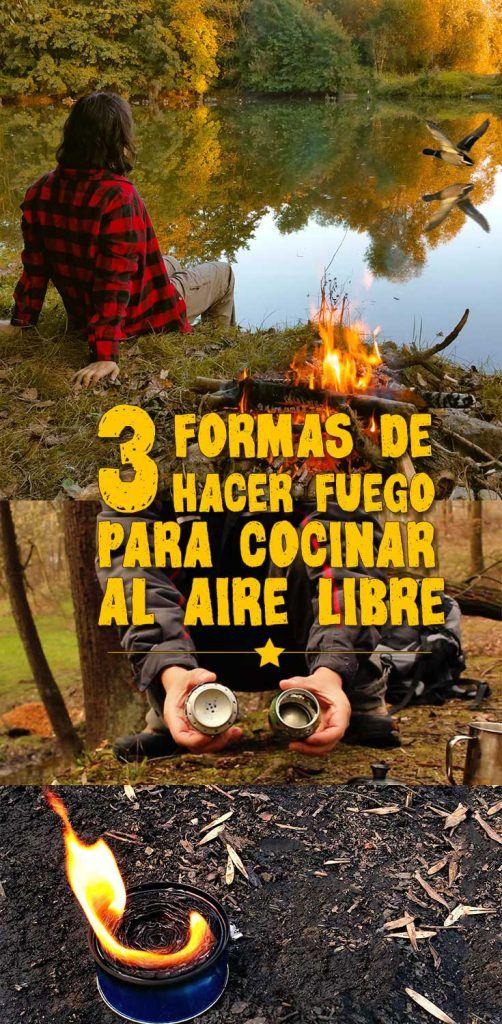Cómo hacer fuego para tus salidas de camping y #cocina al aire libre. Una completa video guía de #Mochileros que incluye formas de llevas fuego y una deliciosa #receta de cocina  #acampar #bushcraft #wanderlust #viajes #camping #senderismo #outdoor #mochilero #nelsonmochilero