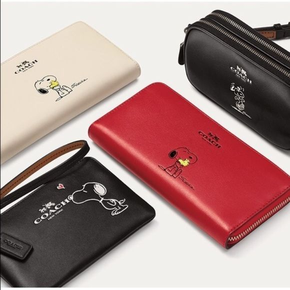 COACH Snoopy Limited Edition Collection Which would you like? Coach Bags