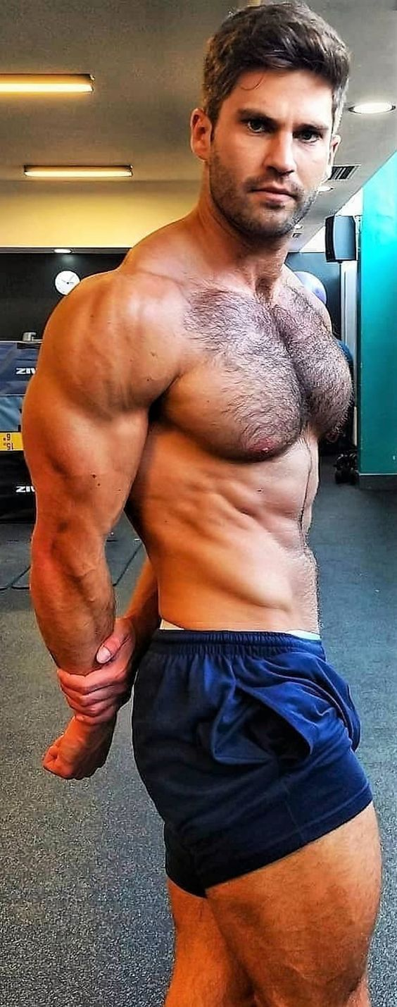 photo Hairy Muscle Guys pin on hairy chested men