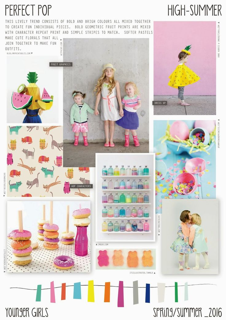 Spring/Summer 2016 - Younger Girls Fashion - Perfect Pop Trend