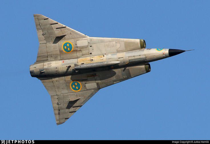 Photo of SE-DXP - Saab Sk35C Draken - Swedish Airforce Historic Flight