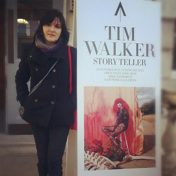 """@kiedys's photo: """"Me, Tim Walker i Gosia Bela"""""""