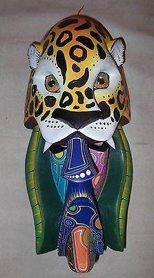 Costa Rican Hand Carved Tribal Mask from Costa Rica Boruca Tribe | eBay