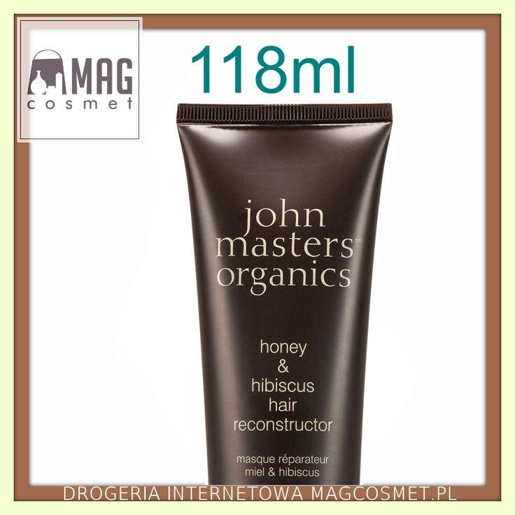 John Masters Miód & Hibiskus Regeneracja Włosów Odżywka 118ml Kosmetyki do włosów - odżywki- Sklep Magcosmet