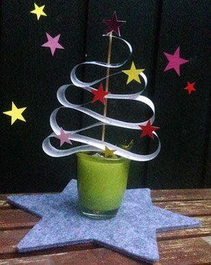 Weihnachtsdeko - IKEA Maßband wird zu einem Tannenbäumchen gefaltet. Anleitung und weitere Ideen mit dem Maßband auf unserem Blog: http://www.limmaland.com/2015/11/19/ikea-ma%C3%9Fband-upcycling-in-der-weihnachtszeit/