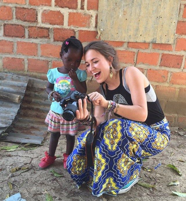 Lauren Daigle in Africa // Girl wearing her bracelets. #laurendaigle