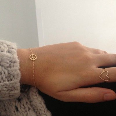Peace Bracelet | Boheme Joyas