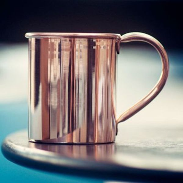 Solid Copper Moscow Mule Mugs - Enpundit