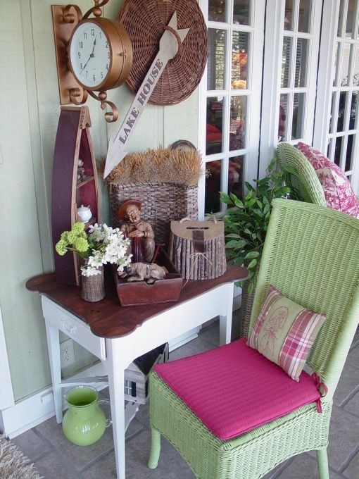 529 best images about porch ideas on pinterest Cottage porch decorating ideas