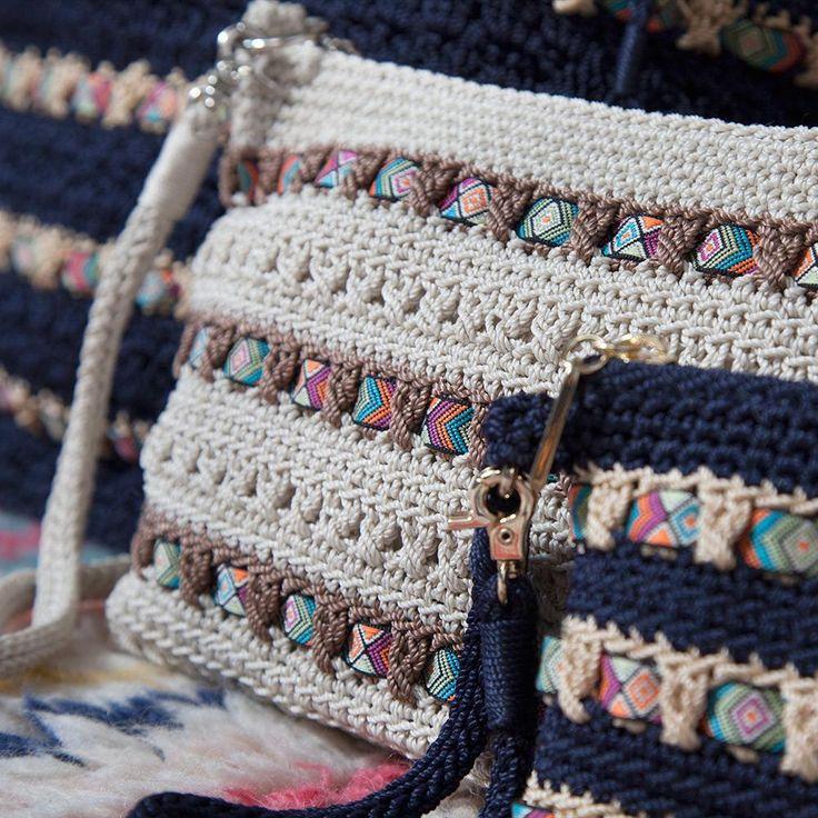 The Sak Ribbon Crochet Holiday Collection