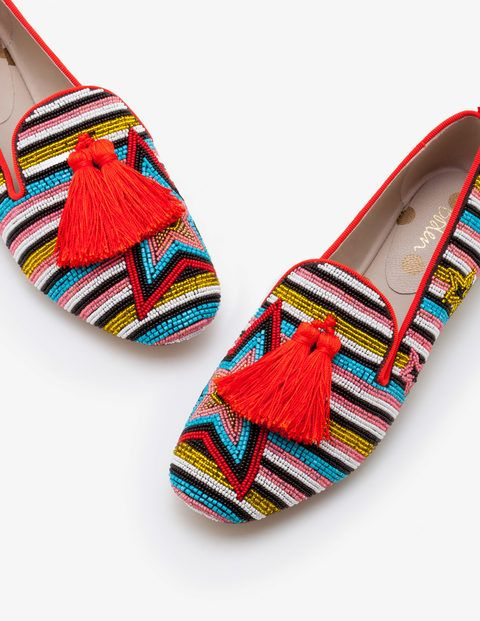 b4730c9712fcd Evelina Beaded Slippers A0399 Flats at Boden   Clothes in 2019 ...
