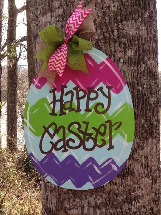 Hey, I found this really awesome Etsy listing at http://www.etsy.com/listing/180111718/easter-egg-door-hanger