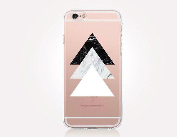 Marbre transparent coque iPhone coque transparente par CRCases