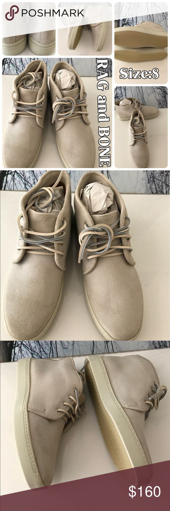 🇺🇸Authentic Chukkas NWT NWT - Authentic RAG and BONE TYNE Chukka Sneakers in brand new condition. Size:8 rag & bone Shoes Chukka Boots