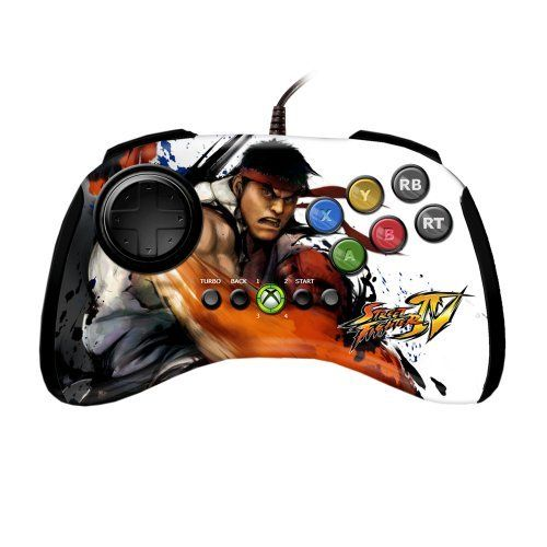 Xbox 360 Street Fighter FightPad  Ryu by Mad Catz * Check this awesome product by going to the link at the image. Note:It is Affiliate Link to Amazon.