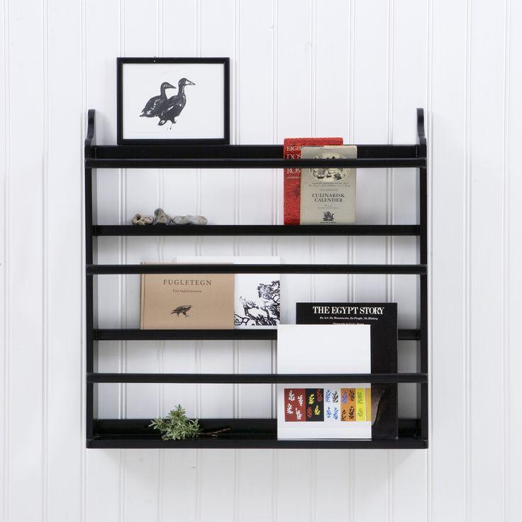 Plate rack, black - Oliver Furniture Denmark.   www.oliverfurniture.com