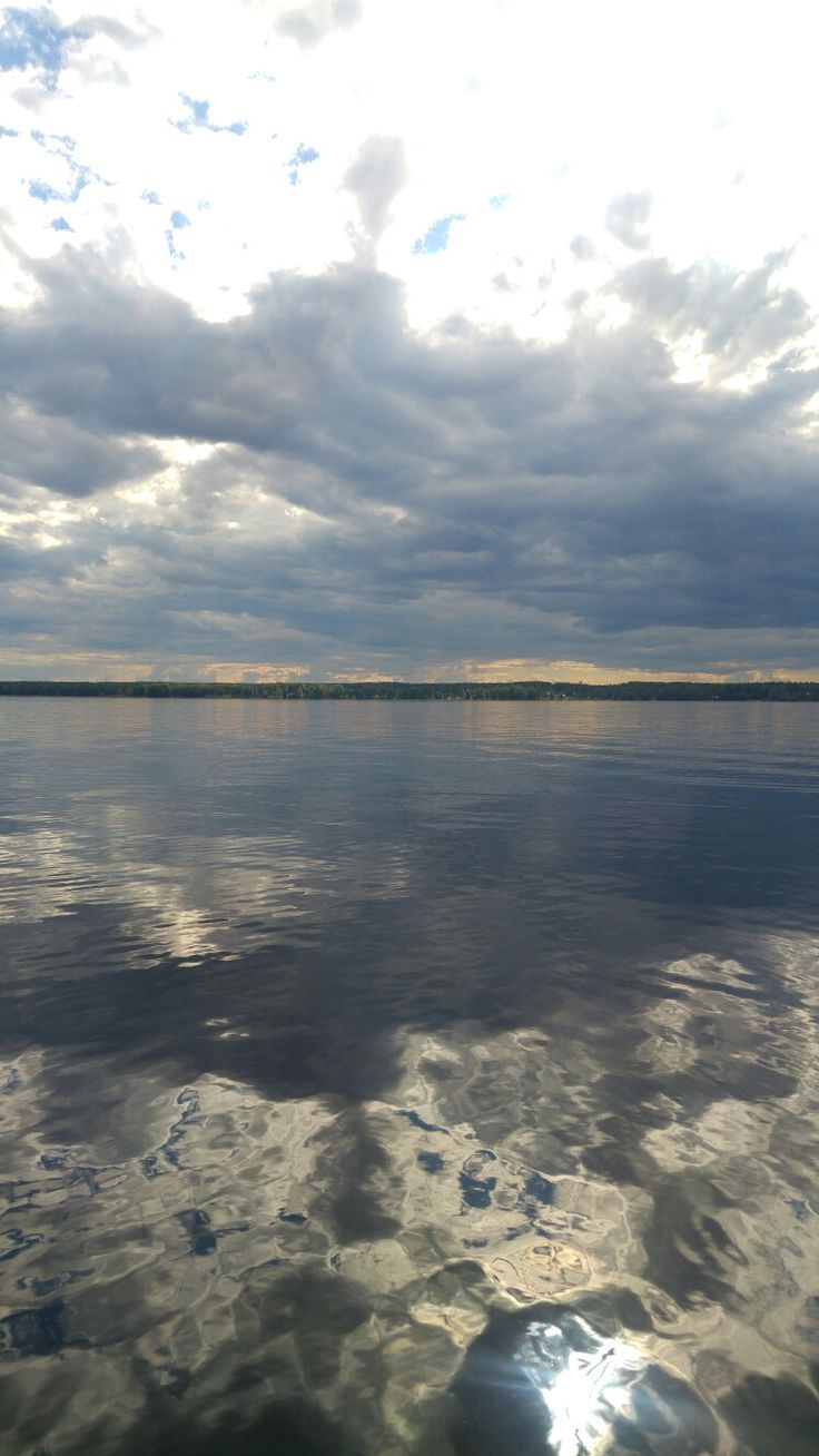 Kaunis järvenpinta!