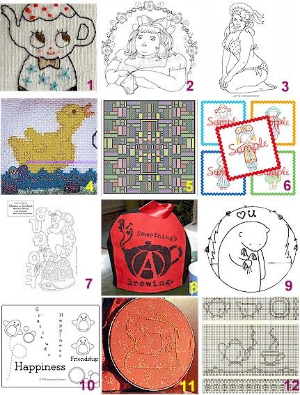 1000+ Images About Broderie Punchneedle On Pinterest | Colour Chart Homemade And Punch