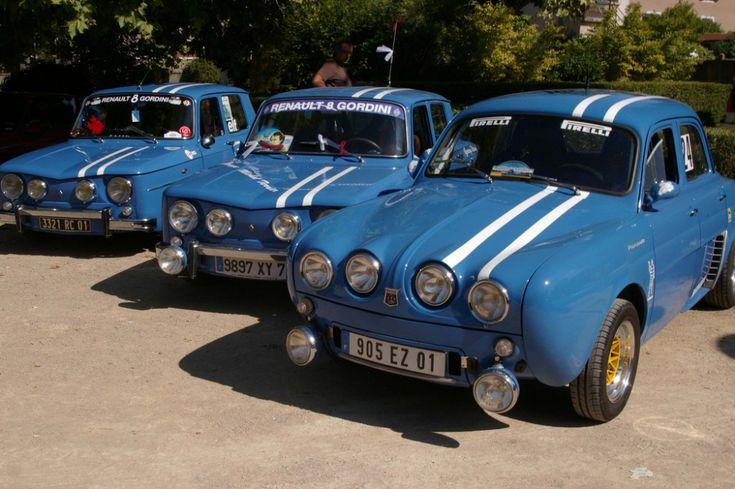 Dauphine Gordini and Renault 8 Gordini