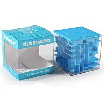 Money Maze Puzzle Box For Kids and Adults Best Offer. Review SainSmart Jr.? Money Maze Puzzle Box For Kids and Adults, Amaze CB-23 Cube Maze Money Bank Getting the Gift is Half the Fun - Money Maze Puzzle Box For Kids and Adults #Money #Maze #Puzzle #Box #Kids #Adults