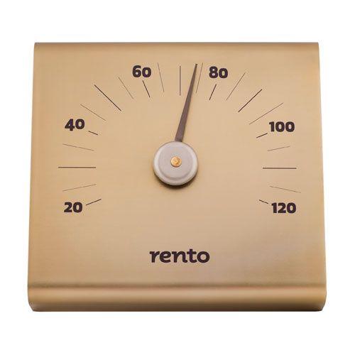 Rento Aluminum Sauna Thermometer $38.50