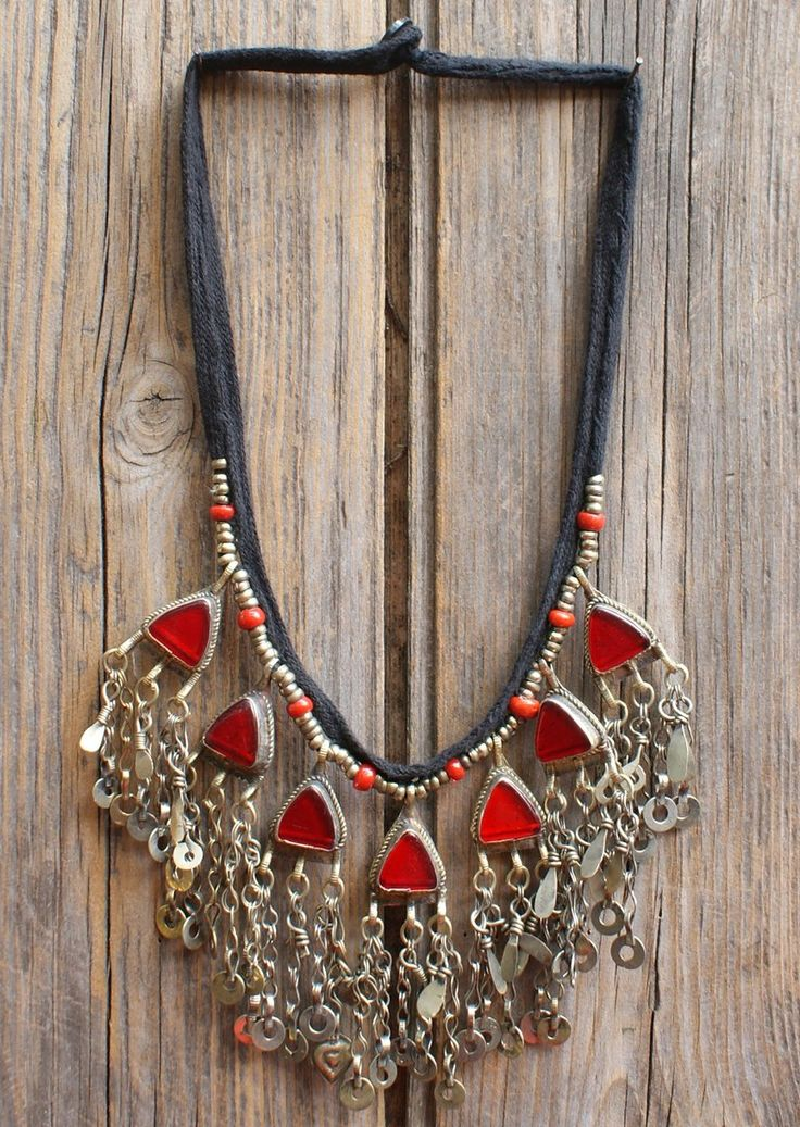 Karma East - Vintage Tribal Necklace 10