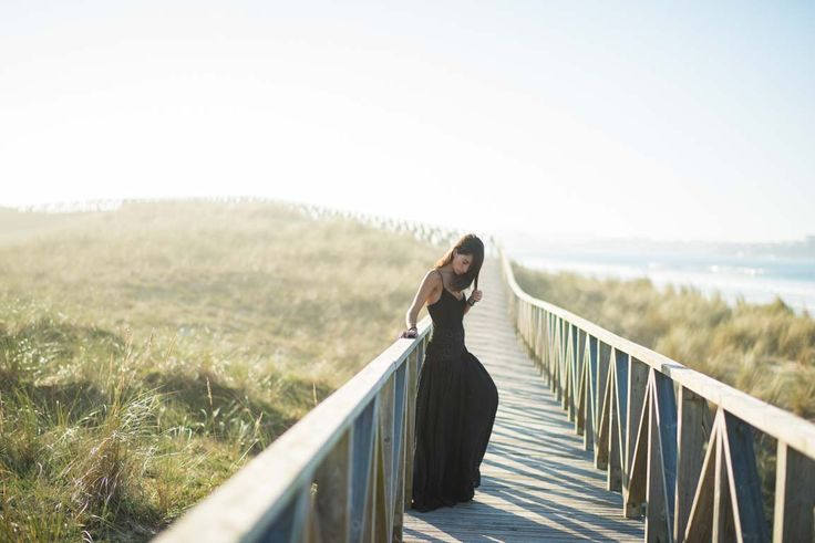 Bohemian addiction. Nolita lace black maxi dress. Blogger Adriana Lindo. Photographer Ángel Robles Robles.