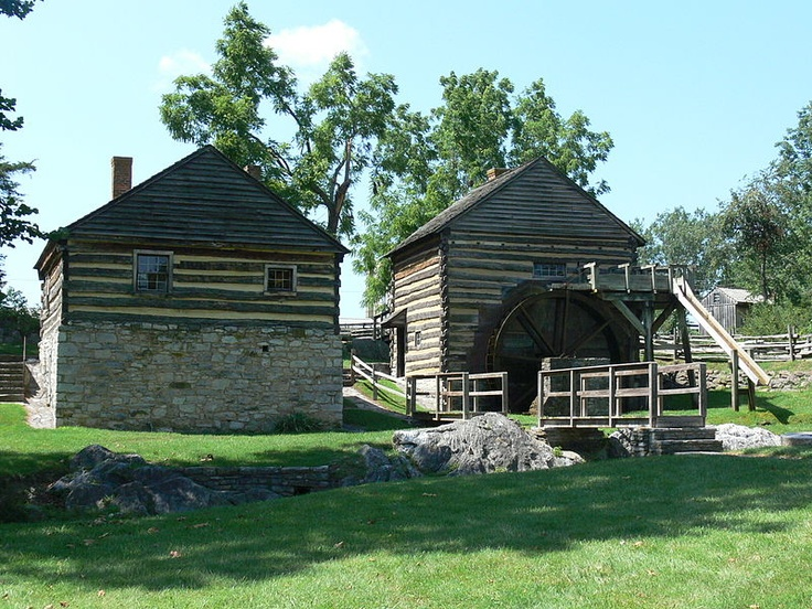 The Cyrus McCormick Farm and is on the family