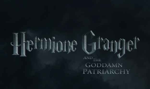 "Harry Potter from Hermione's point if view - ""Hermione Granger and the Goddamn Patriarchy"" - literally the best thing ever."
