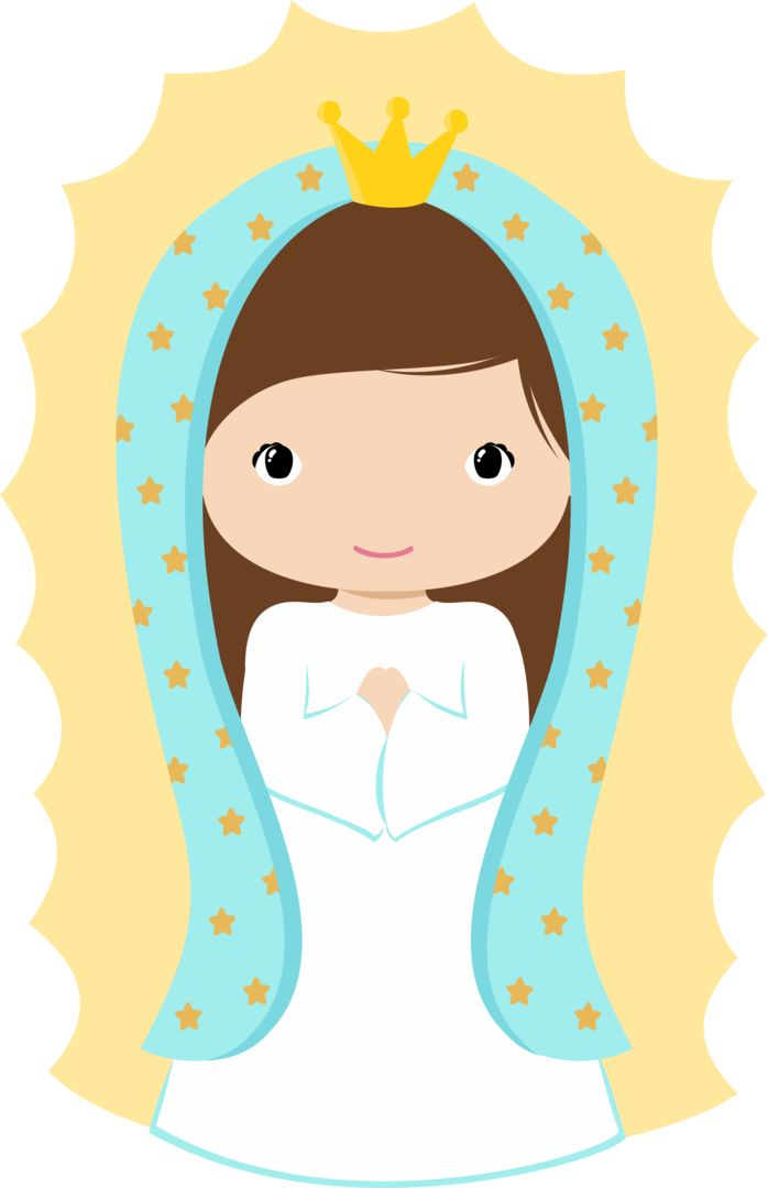 Clipart de Virgencitas Please.