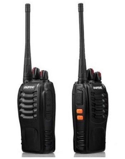 16 CH 2-way Walkie Talkie $114.99 Description: New Baofeng BF-888S Walkie Talkie 2-way Ham Radio Interphone UHF 400-470MHz 16CH General Specifications Frequency Range UHF 400-470MHz RF Rated Power ¡Ü 5W Channel Capacity 16 Channel Spacing 25KHz Operated Voltage 3.7 V Battery 1500MAh Li-ion Battery Life About 8 hours Frequency Stability ¡À2.5ppm Operated Temperature -30¡ãc - +60¡ãc Antenna Impedance 50¦¸ - For more details Visit Online Department Store.