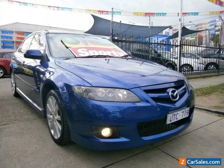 2007 Mazda 6 GG 05 Upgrade Luxury Sports Blue Automatic 5sp A Hatchback #mazda #6 #forsale #australia