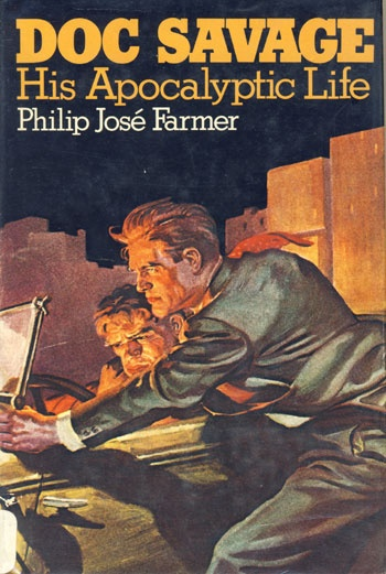 203 best doc savage images on pinterest savage heroes and cover art doc savage his apocalyptic life by philip jose farmer 1973 first edition book fandeluxe Gallery