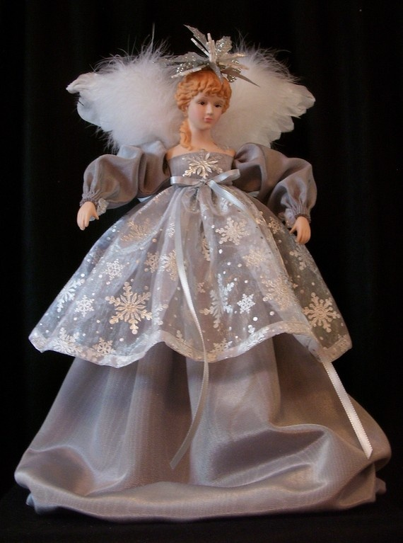 Christmas Tree Angels Toppers