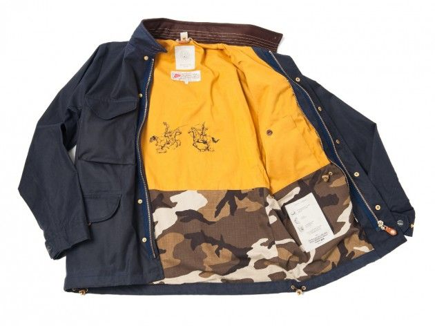 Bastong Handmade Waxed Cotton Jackets