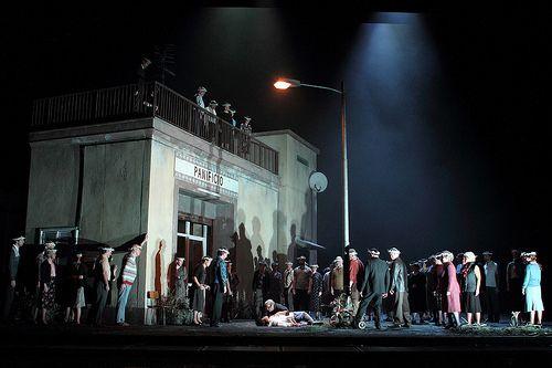 Cavalleria rusticana by Pietro Mascagni (director: Damiano Michieletto) @ Royal Opera House, 13.12.2015